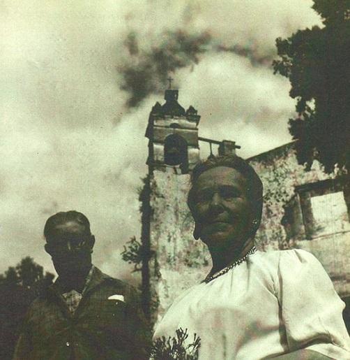 1 Ceferino Palencia Alvarez Tubau y su mujer Isabel