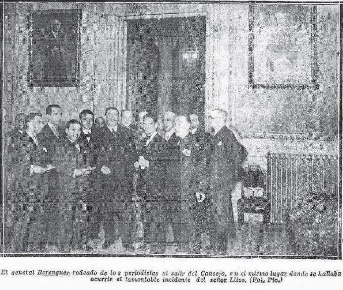 3 Joaquín Llizo. Berenguer y periodistas