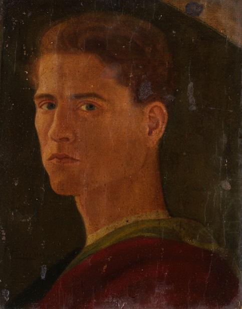 8 Autorretrato 1909 Francisco Pompey